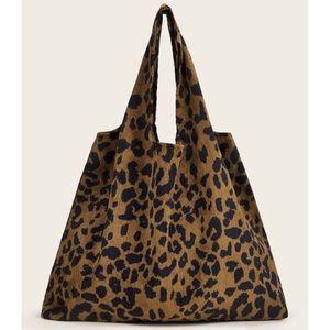🆕🌟Host Pick🌟 Leopard Print Shopping Bag Tote